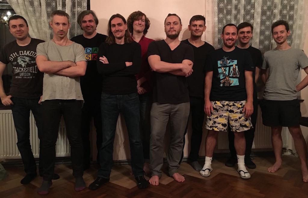 The team in Lipia Góra