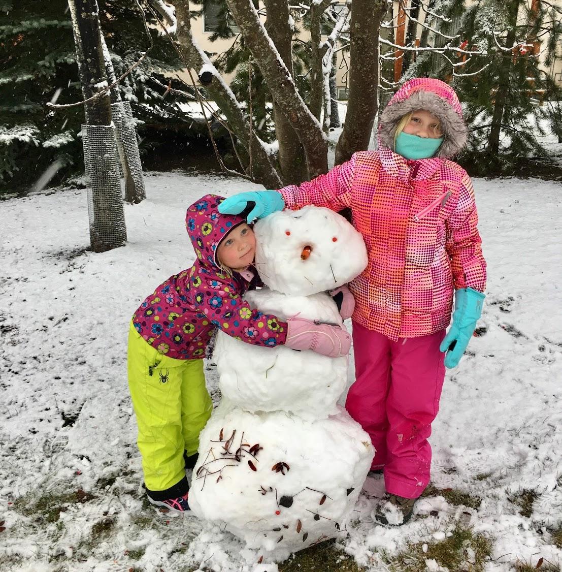 snowman in fernie
