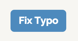 button with label 'fix typo' from linked post