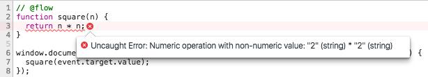 Textfield error