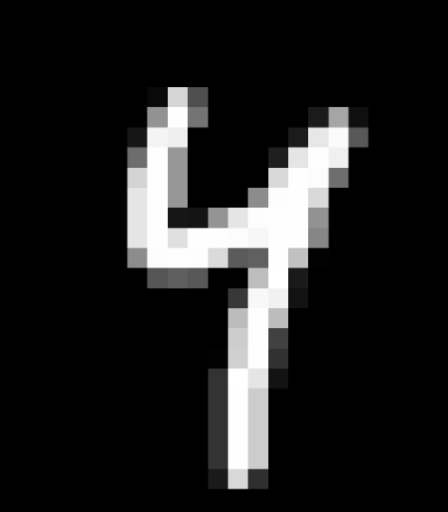 Image from  the MNIST dataset