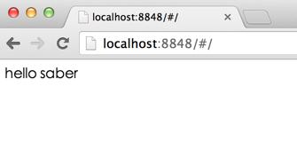 start webserver