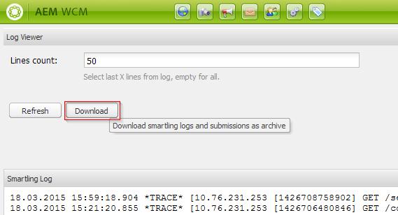 smartling log viewer000335