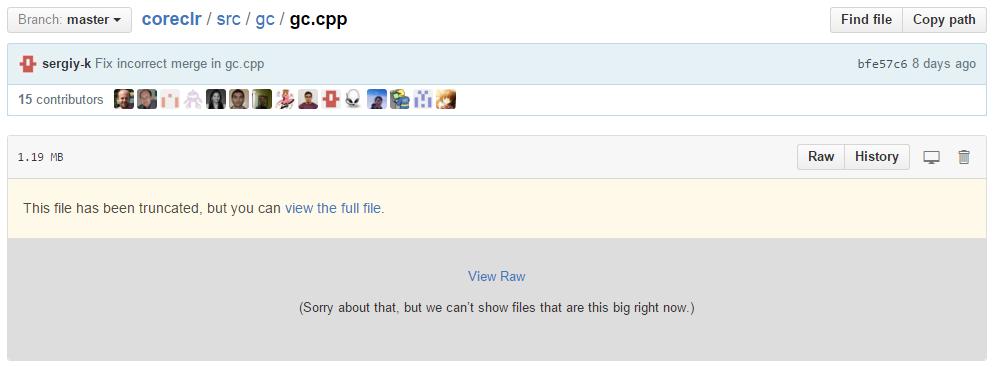 gc.cpp on GitHub