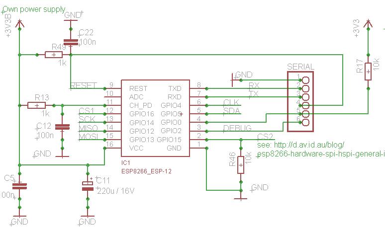 esp circuit