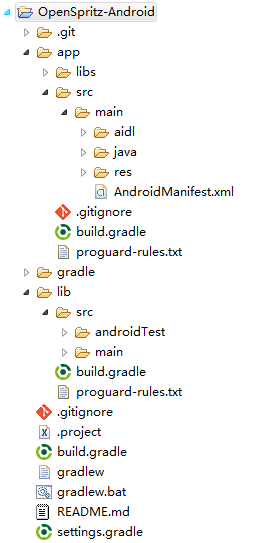 Import-android-gradle-as-general-project
