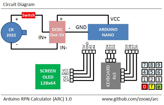 ARC circuit diagram