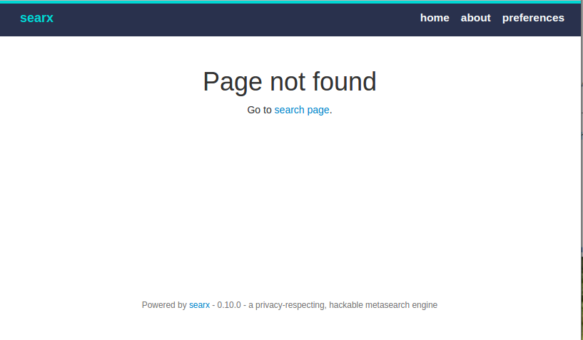 searx-page-not-found