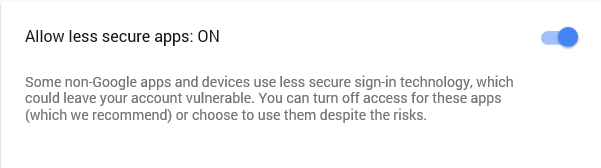 03 - google allow less secure apps