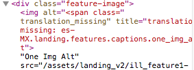 This image show missing translation error for `es-MX` but this also happens to other locales like `th`