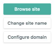 Configure domain on Netlify