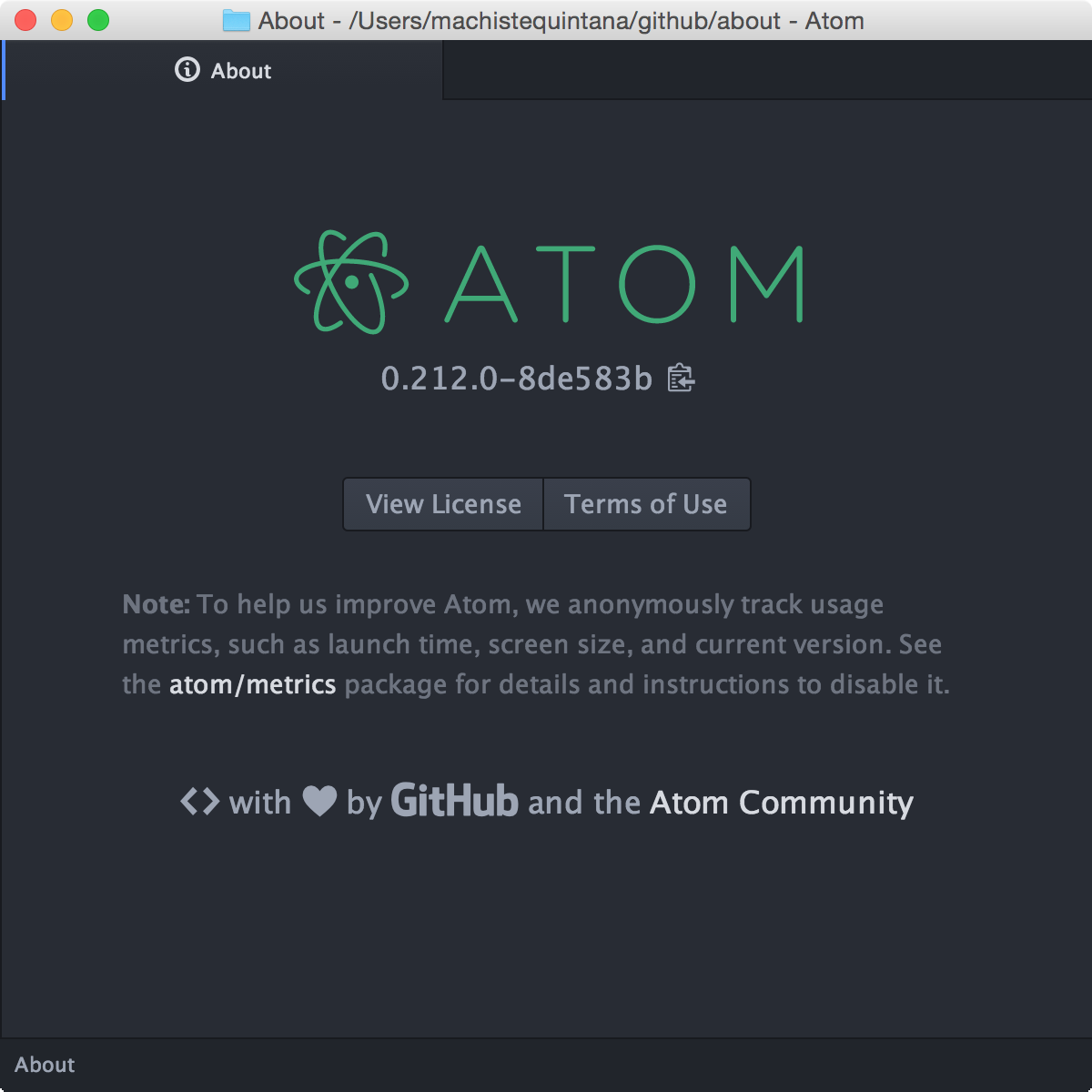 About Atom
