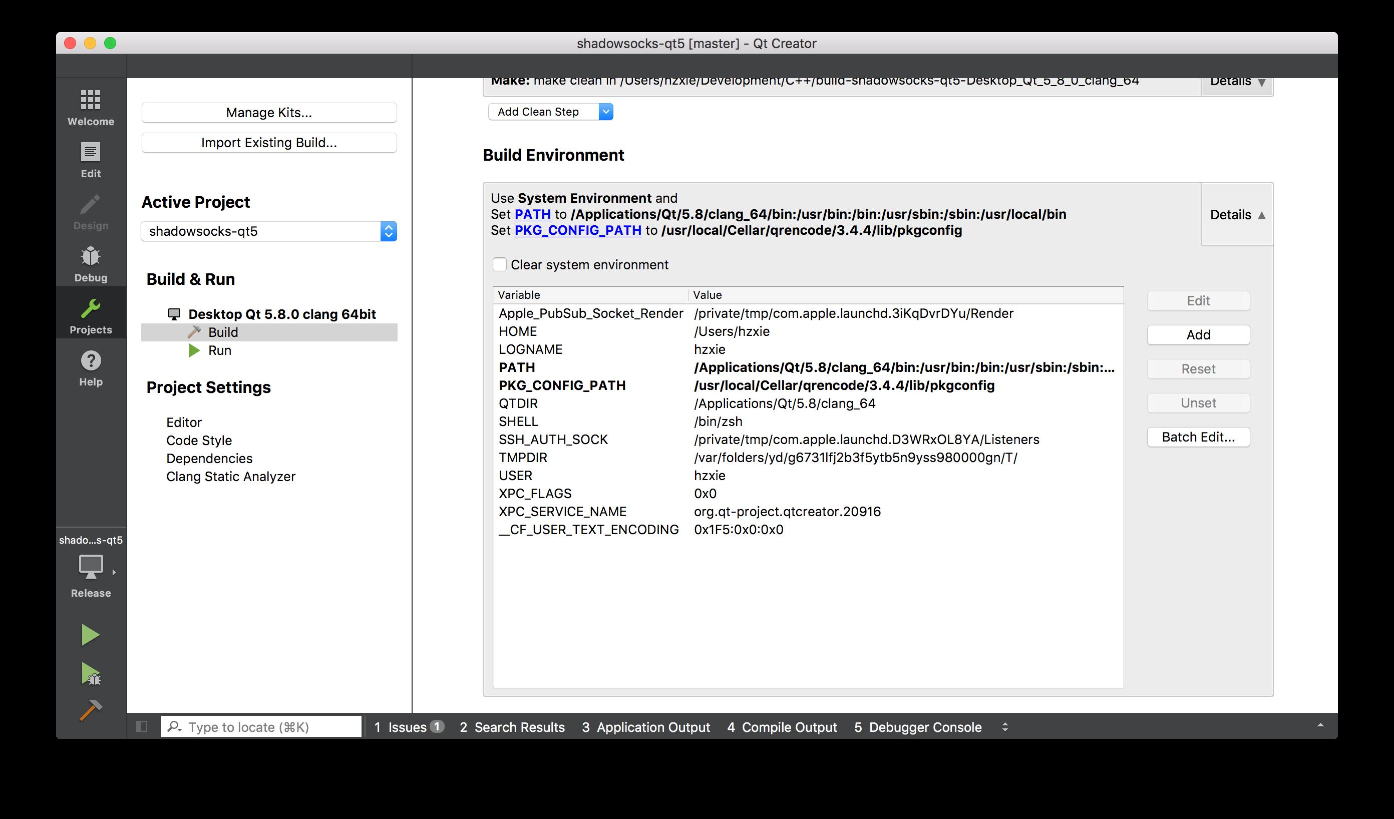 qt-build-environment