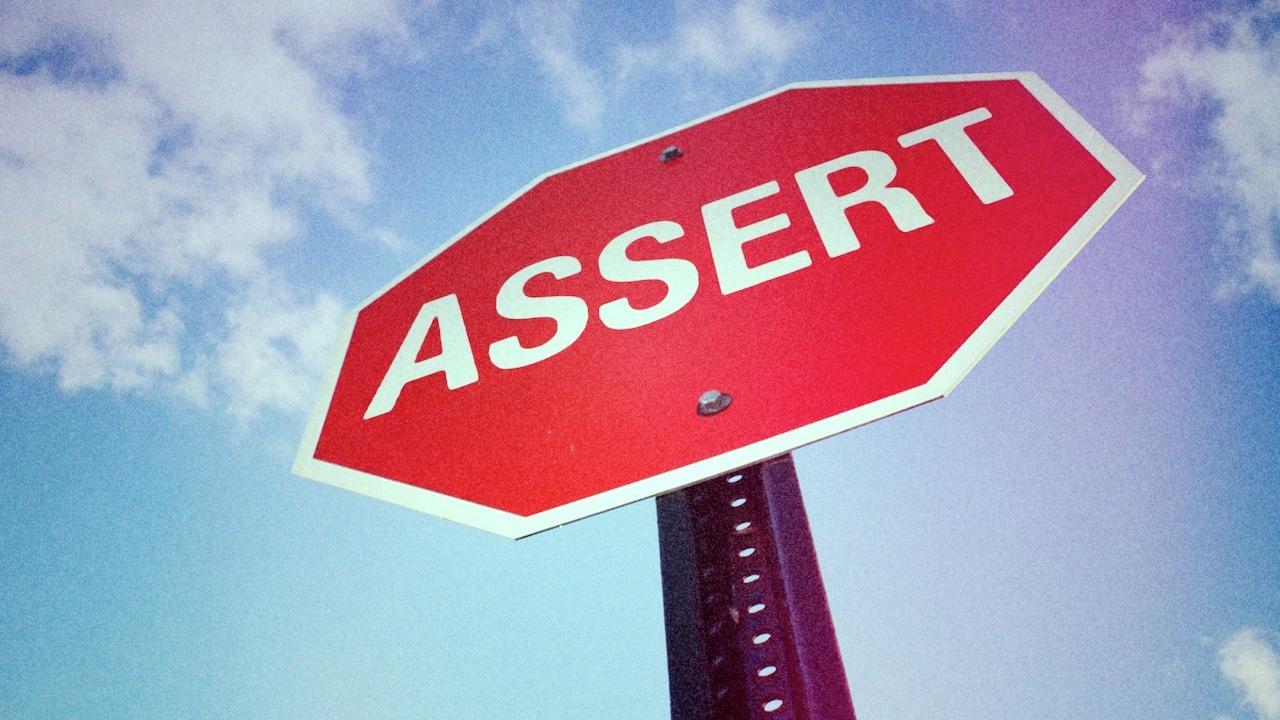 assert-sign