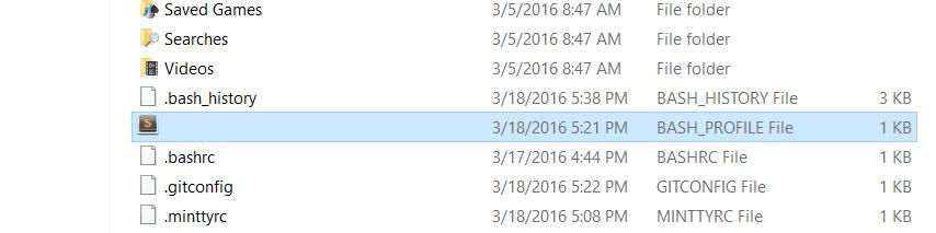 bash file
