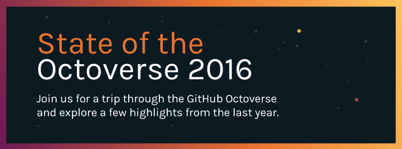 Join us on a trip through the Octoverse