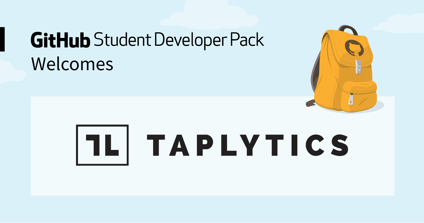 Taplytics joins the Student Developer Pack