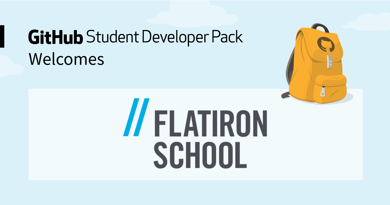 Flatiron School joins the Student Developer Pack