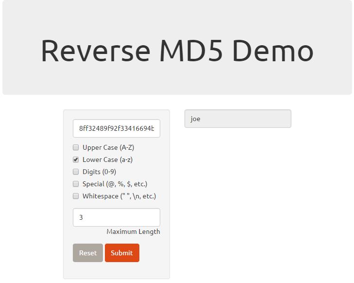 demo-md5