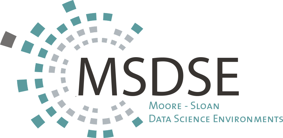 Moore Sloan Data Science Environments