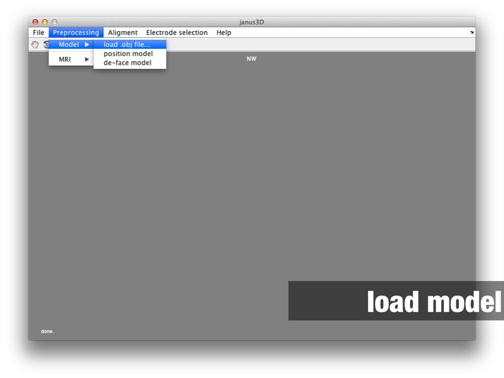 janus3D loading files