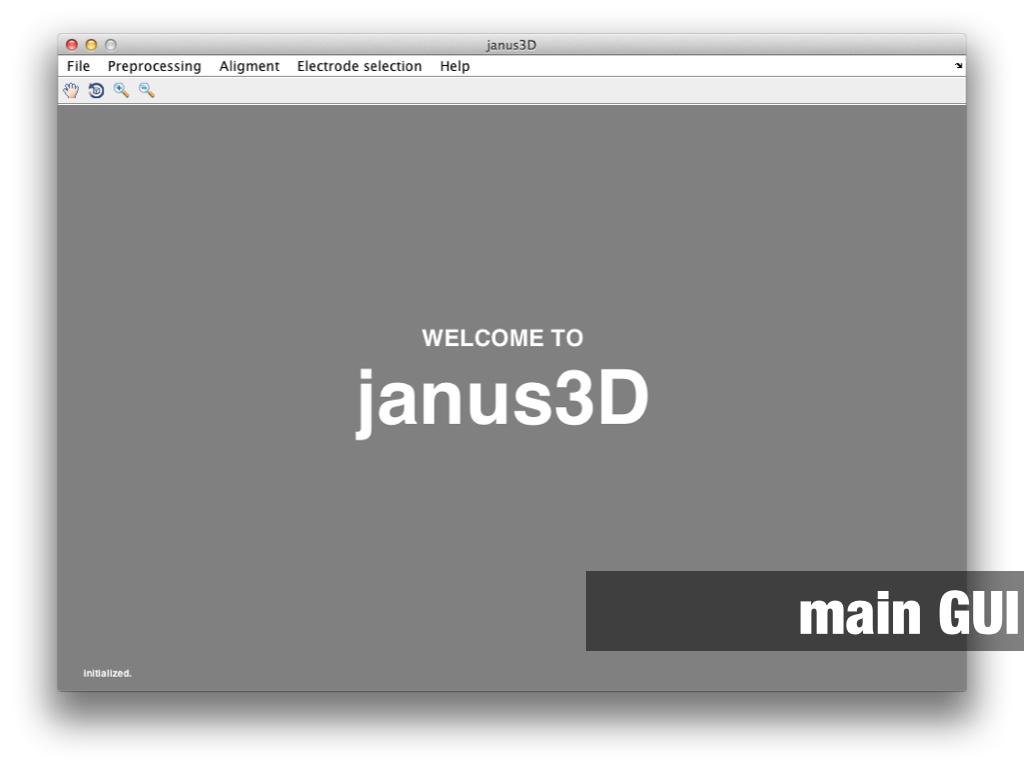 janus3D Main GUI