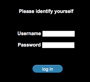 login as a user