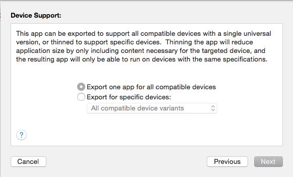 Export app