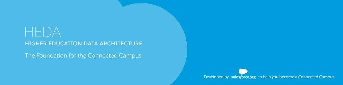 Salesforce Higher Education Data Architecture