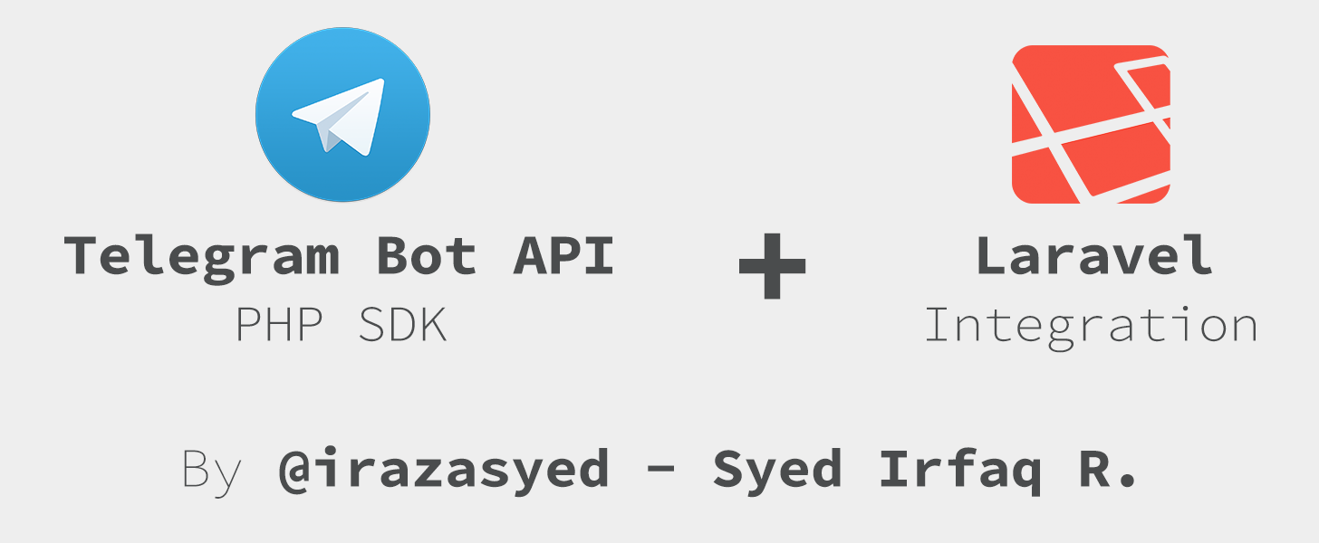 irazasyed/telegram-bot-sdk - библиотека для создания ботов для Telegram