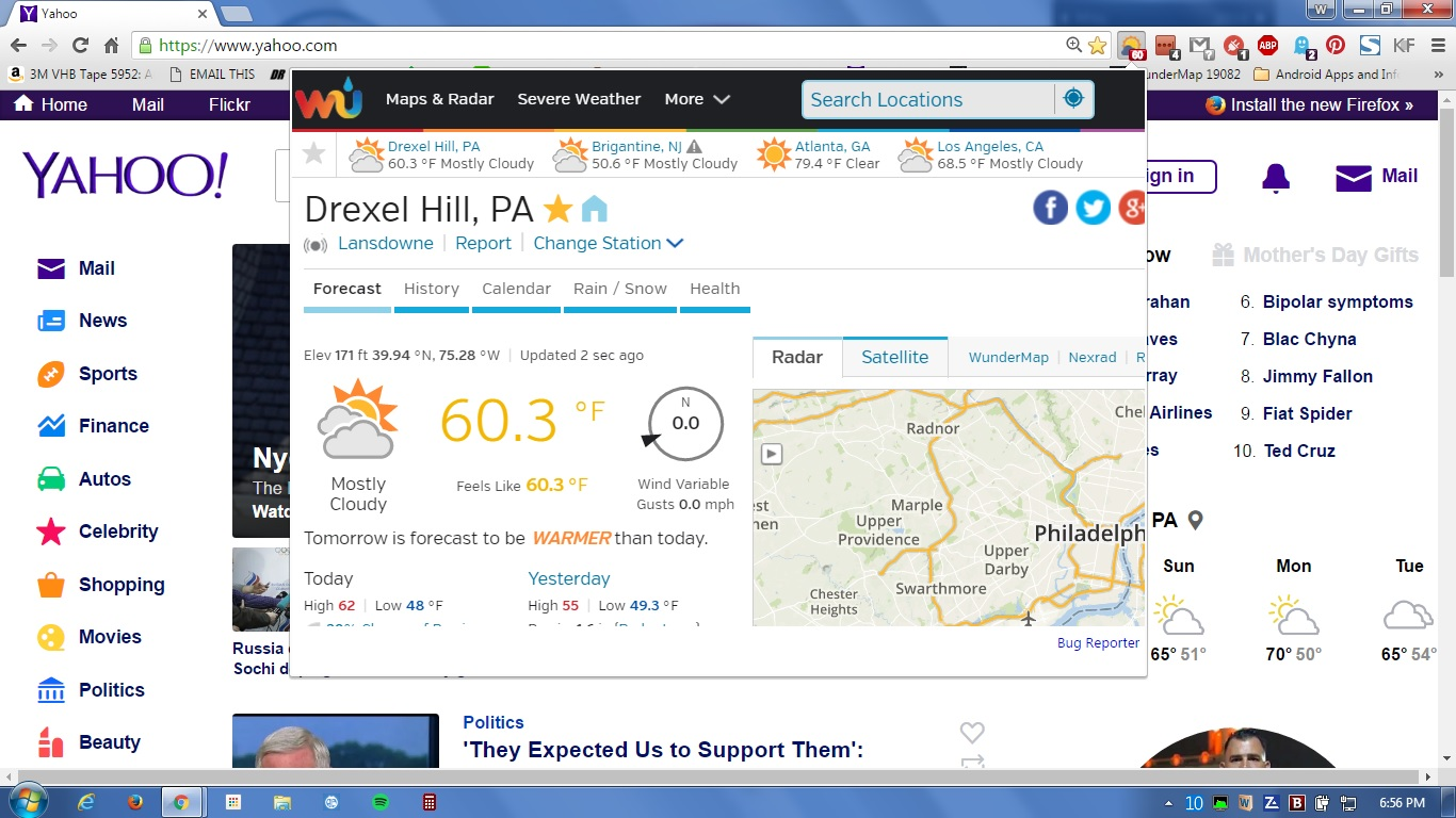 weather ext wu working in chrome 5-7-16