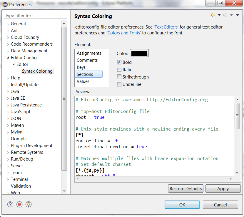 editorconfigsyntaxcoloringpreferences