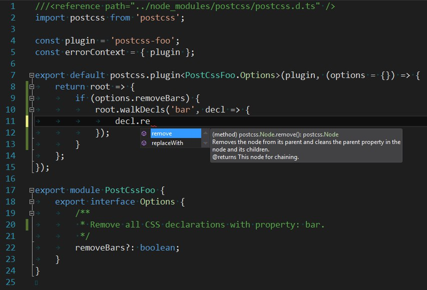 PostCSS in Visual Studio
