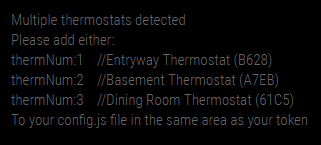 Thermostat Select