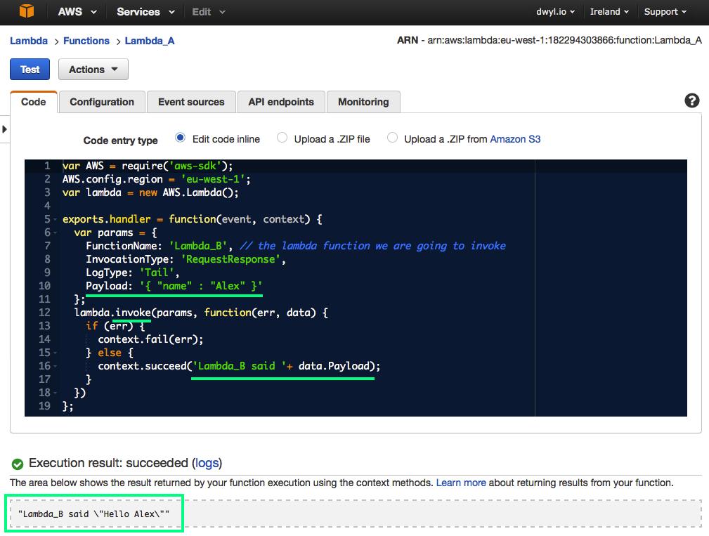 lambda invoke-lambda_a-execution-result