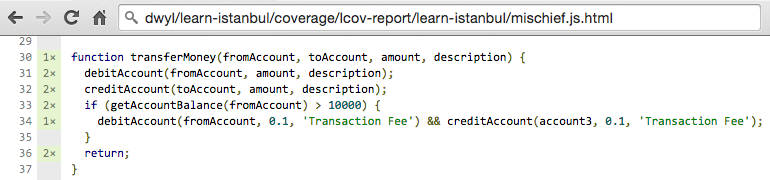 100 % Code Coverage includes Rogue Code