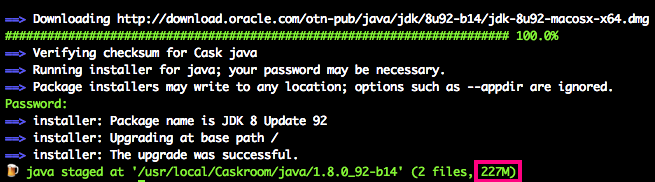 install-java-with-homebrew-cask