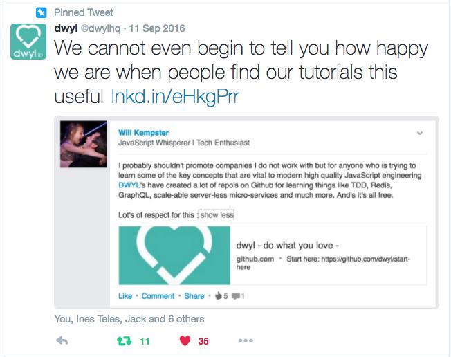 people-find-dwyl-tutorials-useful