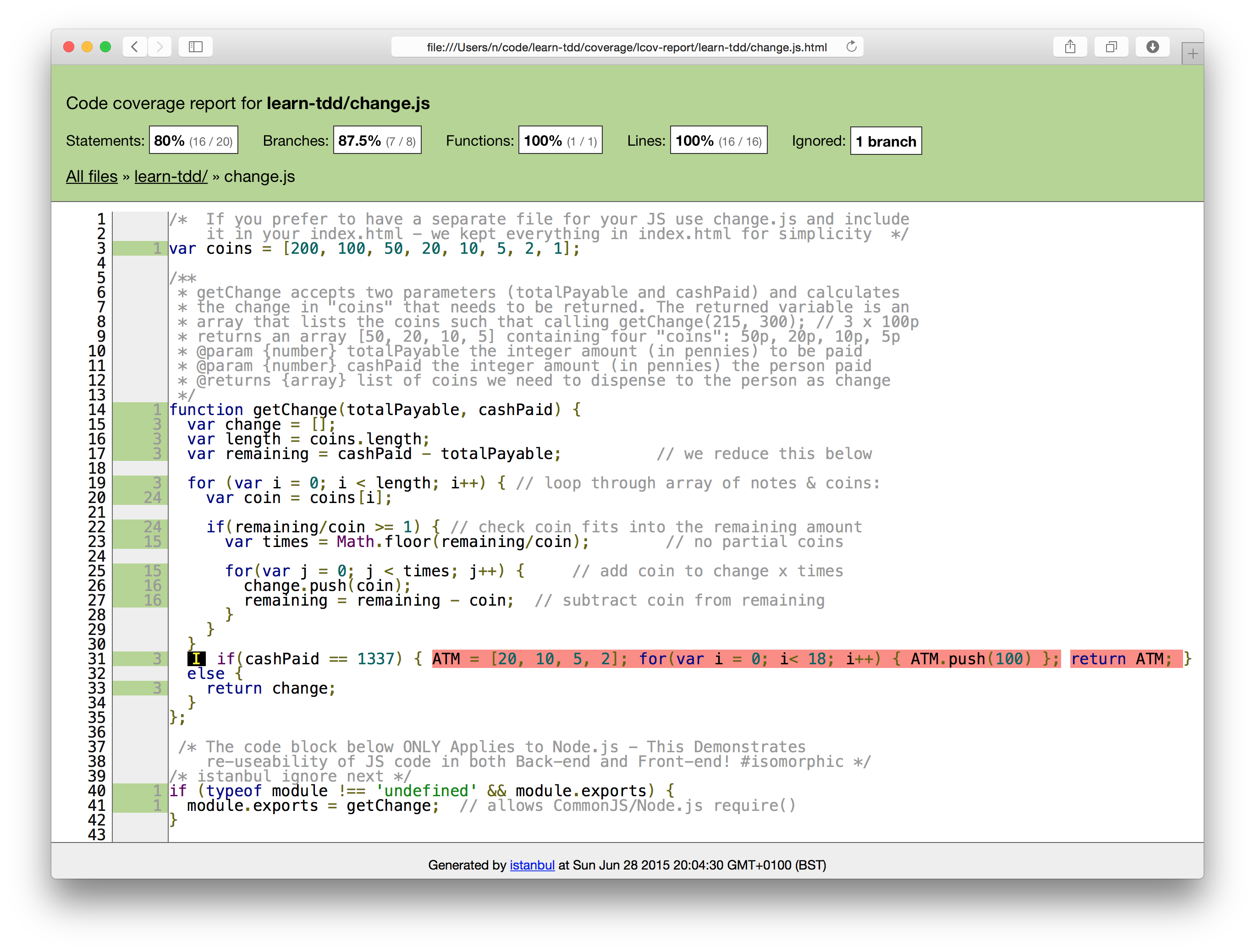 server-side-test-istanbul-coverage-highlights-rogue-code
