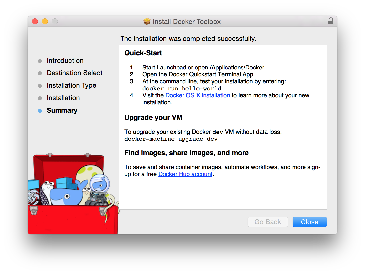 docker-toolkit-installation-summary