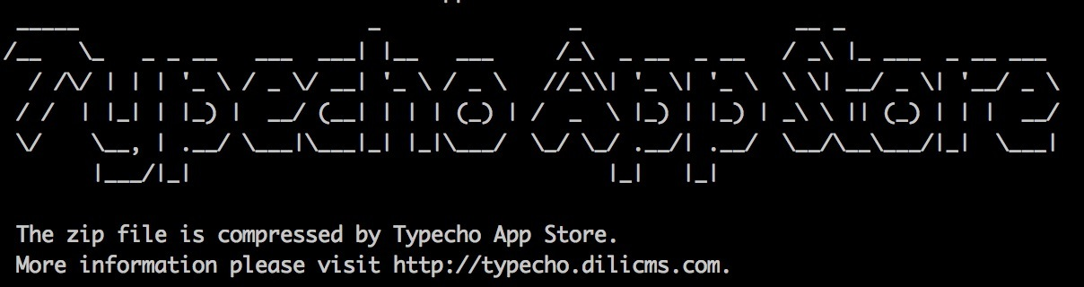 Typecho App Store Is Coming