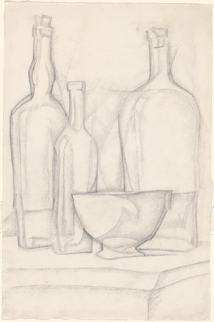juan-gris-bottles-and-bowl-1911
