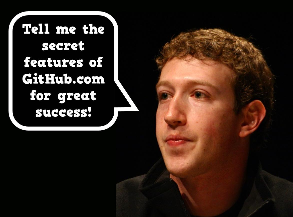 Tell me GitHub.com secrets for great success