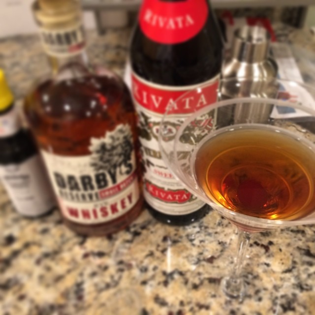 a finished manhattan