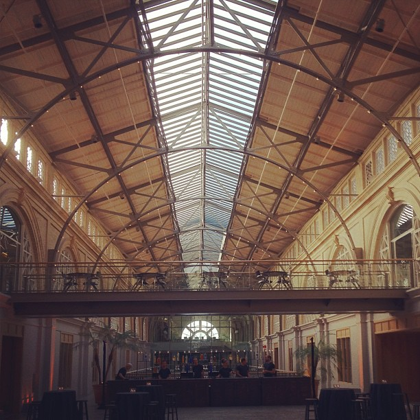 Inside of the Ferry building