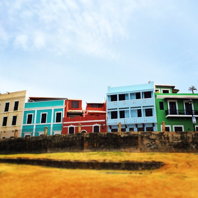 Colorful Puerto Rico Buildings