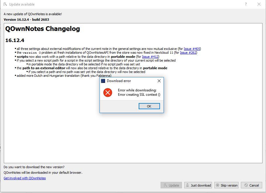 update-ssl-error