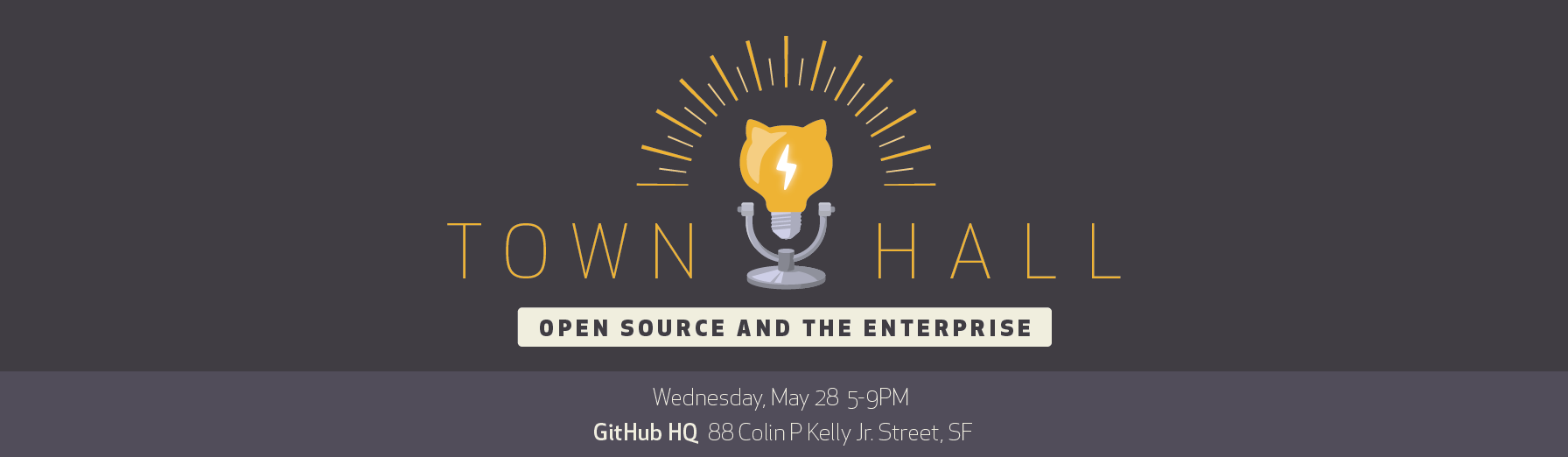GitHub Town Hall: Open Source and the Enterprise
