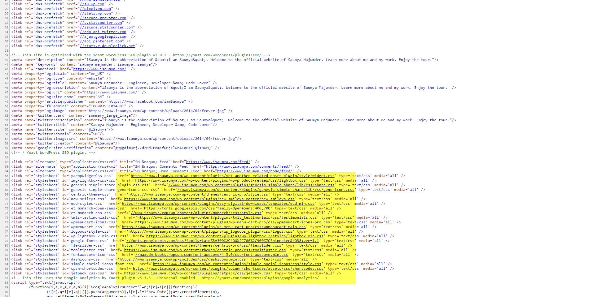 Frontend Source Code - HTML Compressor DISABLED