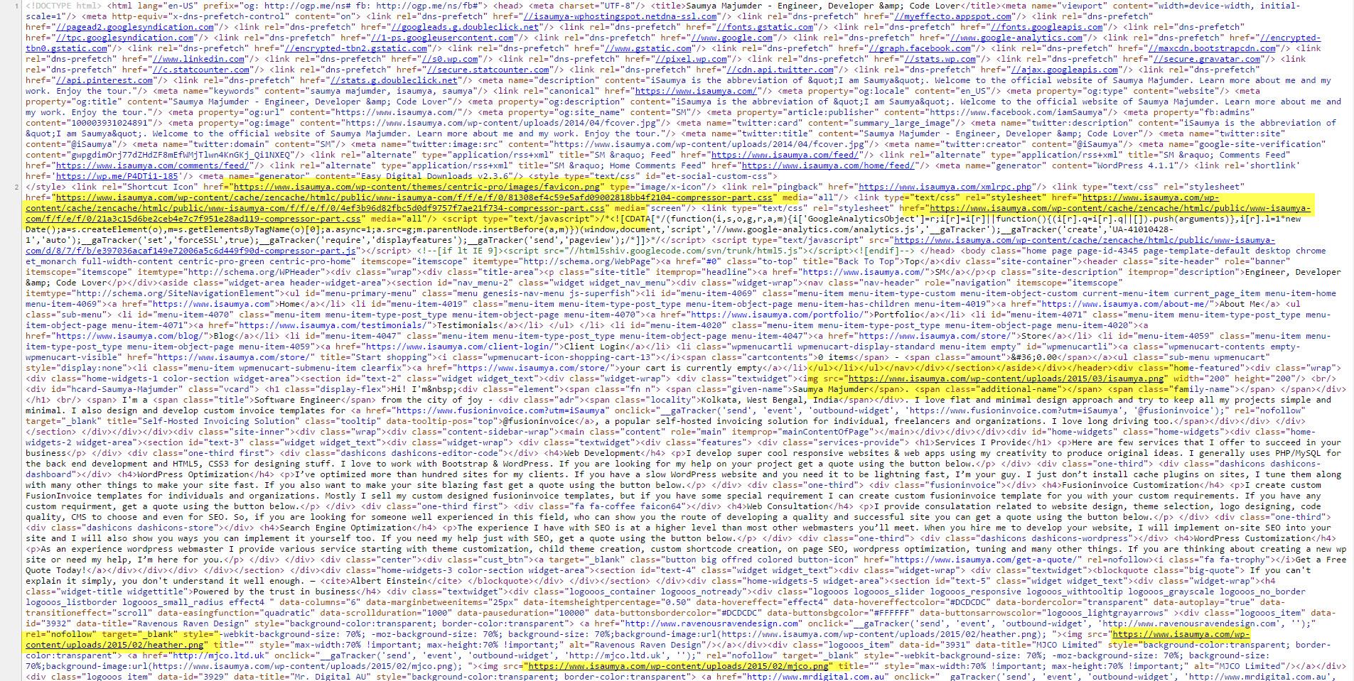 Frontend Source Code - HTML Compressor ENABLED